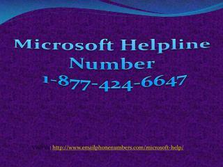Microsoft Office Setup ppt