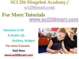 SCI 256 Slingshot Academy / sci256mart.com
