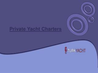 Fishing Yacht Charter