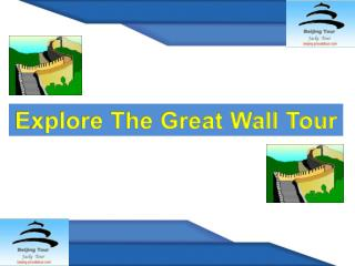 Great Wall Tour One of The Seven Wonders In the World