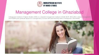 Best Management Institutes in Delhi NCR