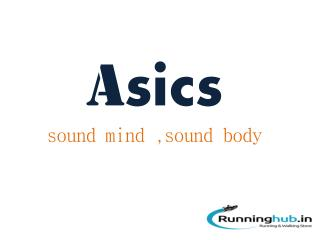 Asics Running Shoes Online - Runninghub.in