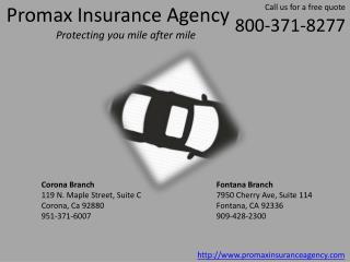 Corona Auto Insurance