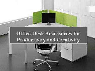 Office Desk Accessories for Productivity and Creativity