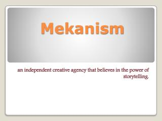 Mekanism Creative Agency San Francisco