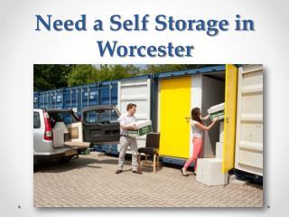 Self Storage Worcester