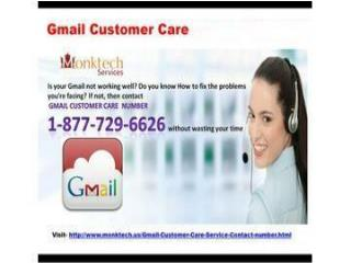 Gmail  customer care 1 877 776 6261 Call, to discover complete solution…..
