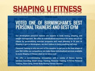 Personal Trainer Birmingham, Al