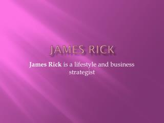 James Rick – Strategies for Life