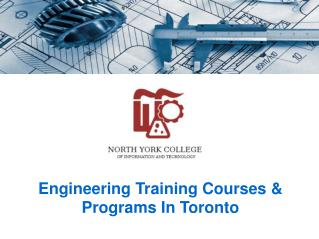 Engineering Training Courses & Programs In Toronto