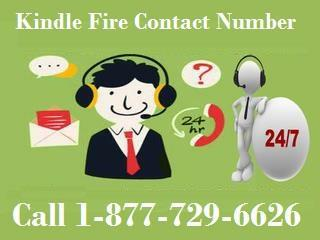 Approach Kindle Fire Customer Service 1-877-729-6626 to Have Finest Solution