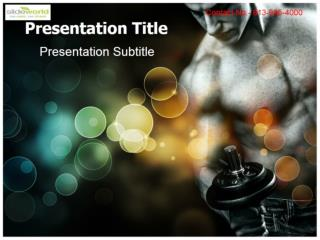 Download Muscular PowerPoint Templates and Theme