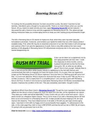 http://www.healthdietalert.com/renewing-serum-ce/