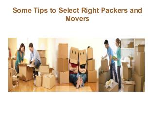 Some Tips to Select Right Packers and Movers in Brisbane