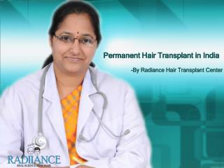 Treatment for baldness in India