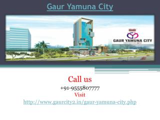 Gaur Yamuna City Brand New Residential Project