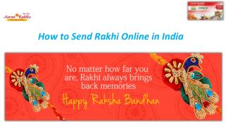 How to Send Rakhi Online in India