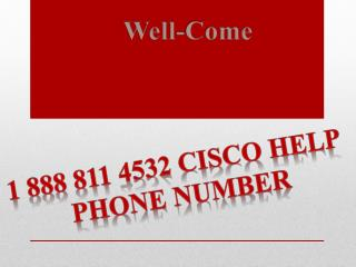 Cisco Services 1 888 811 4532  Cisco Customer Service Number