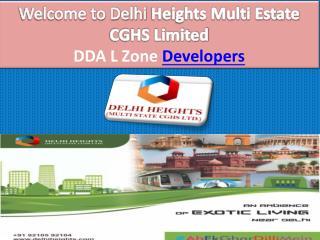 DDA Master Plan 2021 Dwarka- DelhiHeights