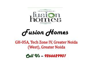 Fusion Homes by Fusion Group Greater Noida – Investors Clinic
