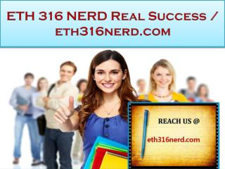 ETH 316 NERD Real Success / eth316nerd.com