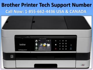 Get repair common Brother printer problems | 1-855-662-4436 Brother printer tech support number
