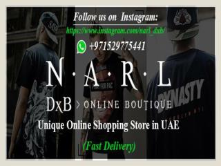 NARLdxb Online clothing store in Dubai
