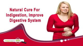 Natural Cure For Indigestion, Improve Digestive System