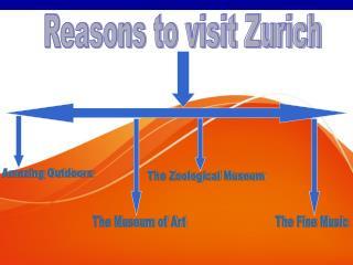 Reasons to Visit Zurich