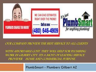 Plumber Gilbert  AZ