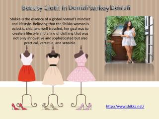 Clothes And Beauty In Denizli turkey