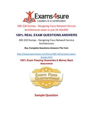 300-320 Practice Test