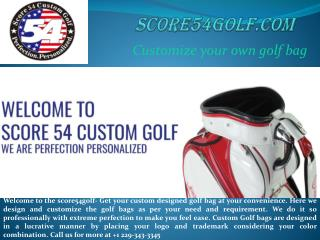 score54golf | Get variety of Custom Golf Bags for you