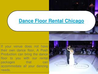 white dance floor chicago