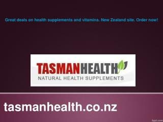 tasmanhealth.co.nz | Nature's Way Hawthorn