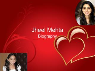 Jheel Mehta