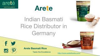 Arete - Indian Basmati Rice Distributor in Germany