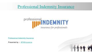 Professional Indemnity Insurance Dubai