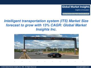 Intelligent Transportation System Market size forecast to grow with 13% CAGR to surpass 13% USD 47.6 billion by 2022