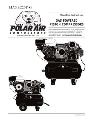 How To Manage Gas Powered Series Piston Compressor