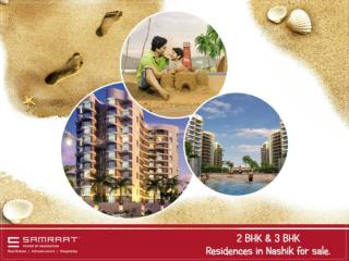2 BHK & 3 BHK Residences in Nashik for sale.