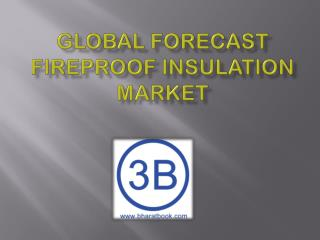 Global Forecast Fireproof Insulation Market