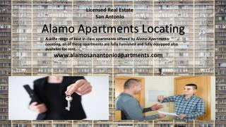 The best idea for accommodation is to rent San Antonio Apartments