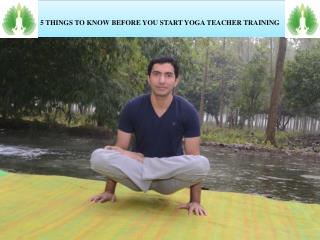 5 THINGS TO KNOW BEFORE YOU START YOGA TEACHER TRAINING