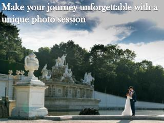 Make your journey unforgettable with a unique photo session