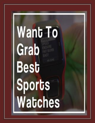 GPS Running Watches: Fully Surrounded With Top Features!