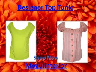 Designer Top Tunic by Mogulinterior