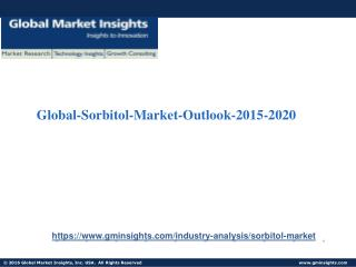 Global-Sorbitol-Market-Outlook-2015-2020
