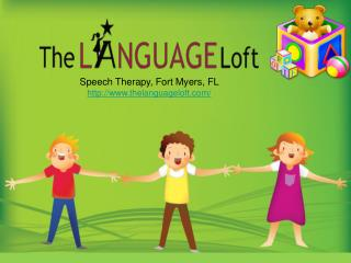 Speech Therapy Naples, FL