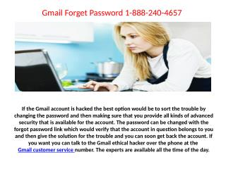 Not able to receive Email on my mobile Contact US 1-888-240-4657